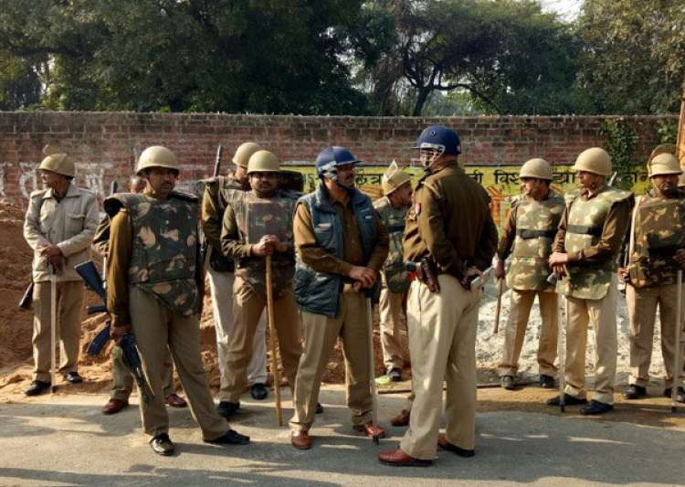 Security forces had to intervene to ensure safety amid