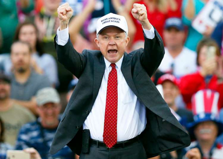 File pic - Jeff Sessions