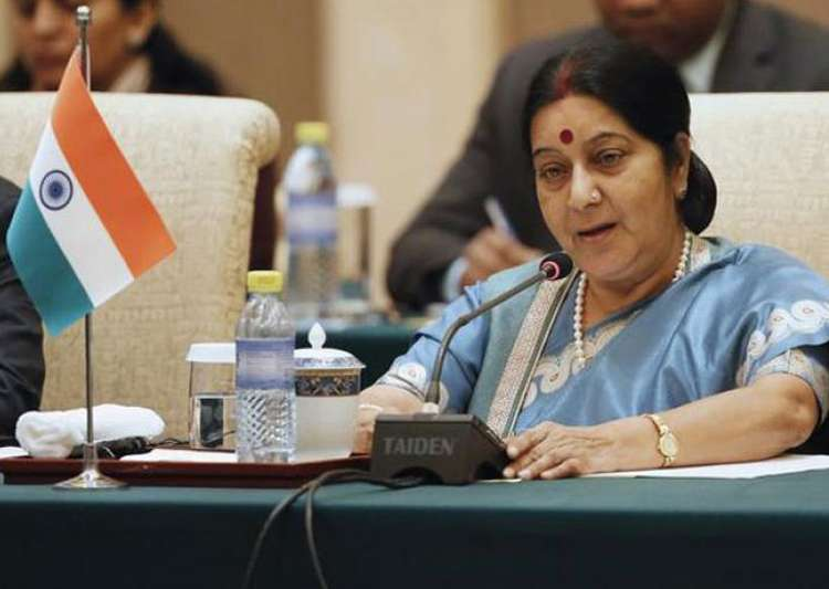 EAM Sushma Swaraj warns Amazon for disrespecting Indian- India Tv