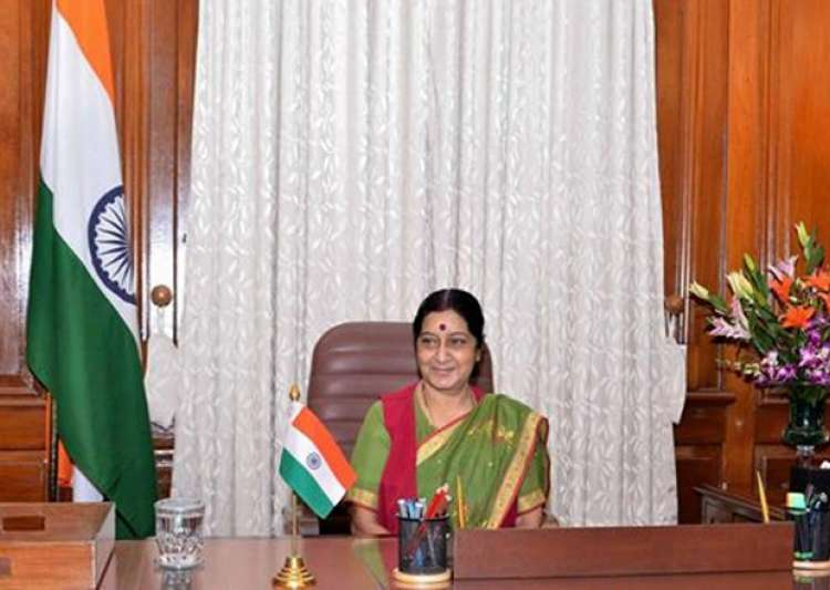 File pic of External Affairs Minister Sushma Swaraj