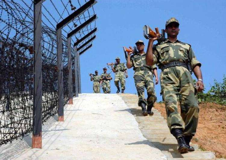 File pic - BSF jawans patrolling near the border- India Tv