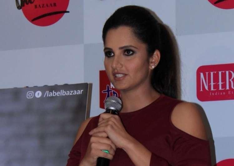 File pic of Sania Mirza- India Tv