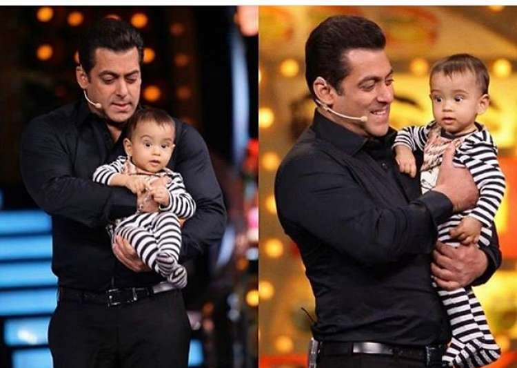 Salman Khan's nephew Ahil's birthday- India Tv