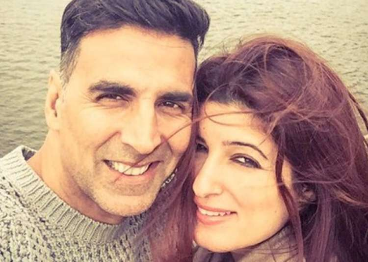 Akshay Kumar and Twinkle