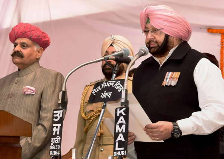 Punjab CM Amarinder Singh has kept Home Affairs for himself