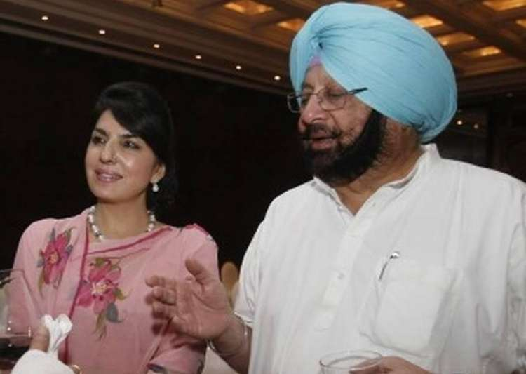 Aroosa Alam, CM Amarinder Singh's 'close friend'- India Tv