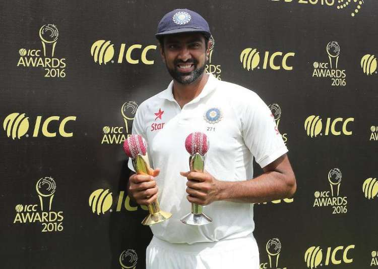 Ashwin receives Garfield Sobers Trophy for bagging ICC- India Tv