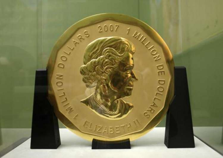 Robbers flee with 100kg gold coin from Berlin museum - India Tv