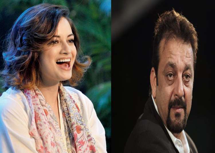 Dia Mirza, sanjay Dutt- India Tv