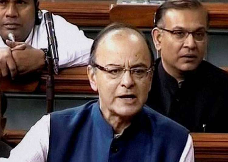 Arun Jaitley tabled four draft GST bills in Lok Sabha on- India Tv