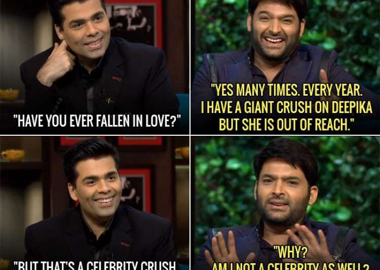 Kapil Sharma, Deepika Padukone- India Tv