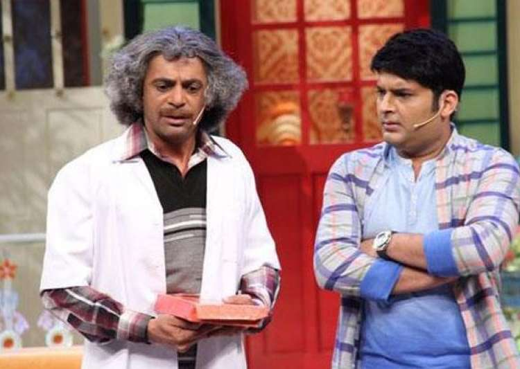 Kapil Sharma and Sunil Grover on 'TKSS'- India Tv