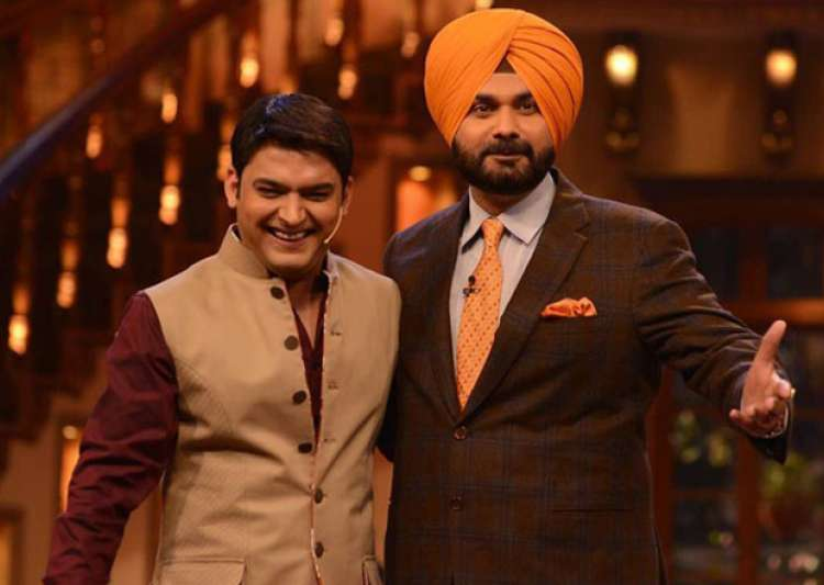 File pic Kapil Sharma and Navjot Singh Sidhu - India Tv