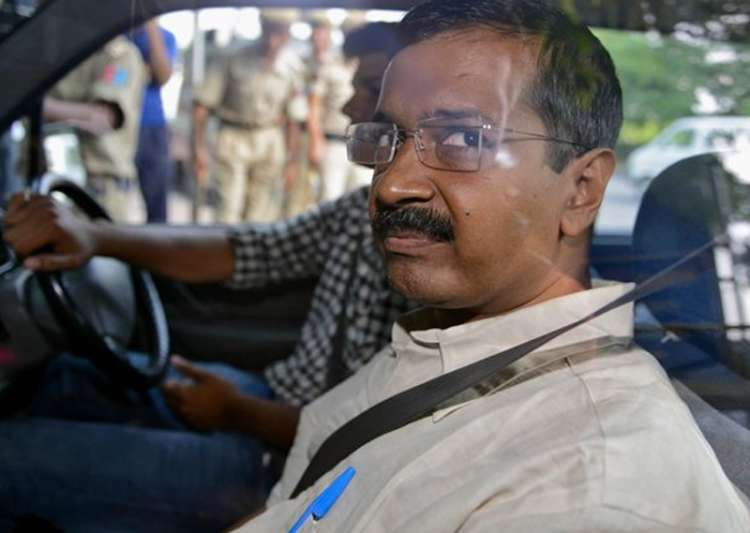 File pic of Delhi Chief Minister Arvind Kejriwal- India Tv