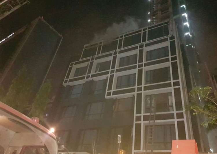 Major fire breaks out at Kolkata hotel, two dead