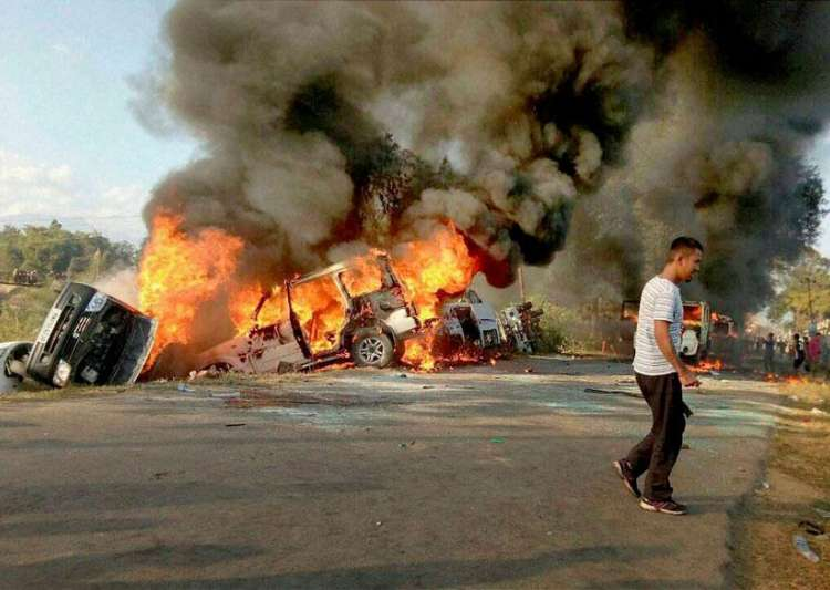 Manipur economic blockade to be lifted tonight after 130- India Tv