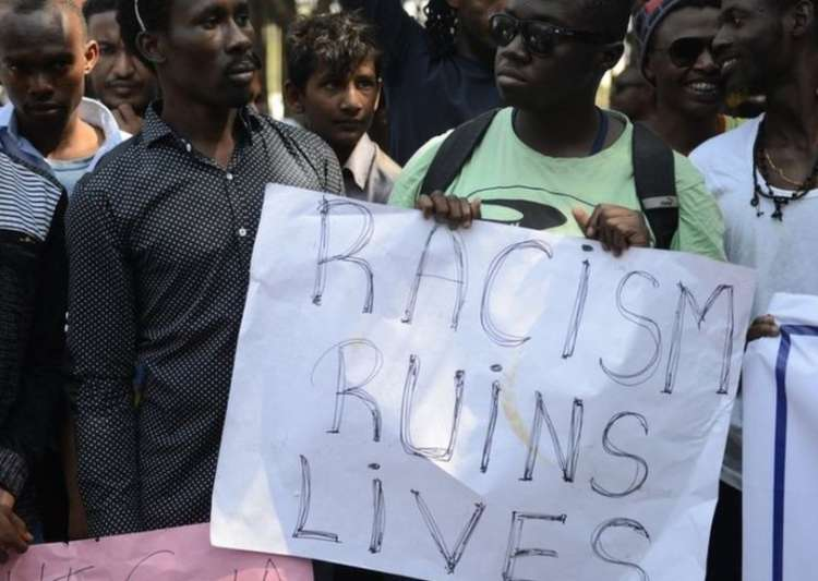 Now, female Nigerian student allegedly thrashed in Greater- India Tv