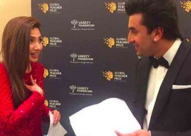 Mahira Khan and Ranbir Kapoor- India Tv
