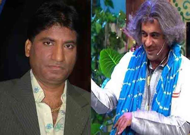 Raju Srivastav and Sunil Grover in TKSS