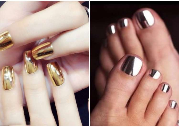 Soon you'll be able to paint your nails with real gold