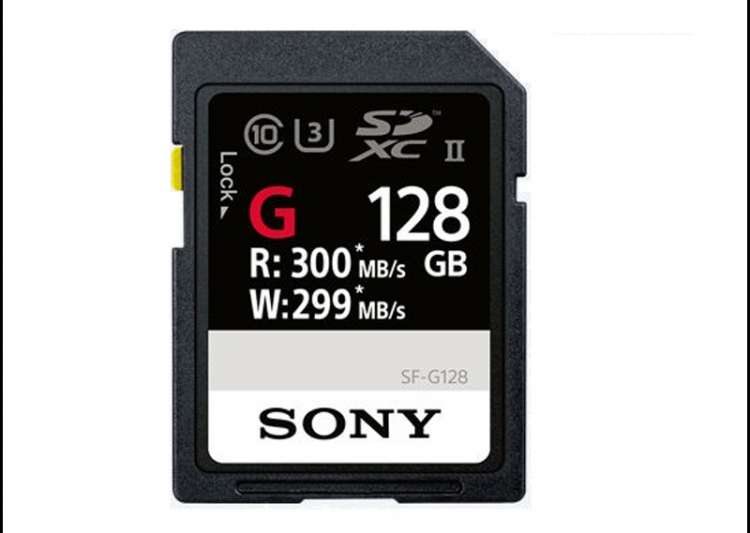 Sony launches 'world's fastest' SD card, super speed card- India Tv