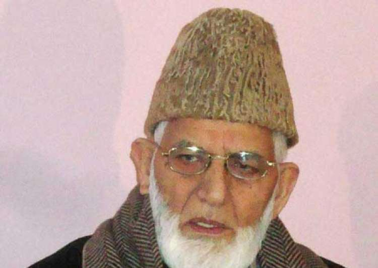 Syed Ali Geelani- India Tv