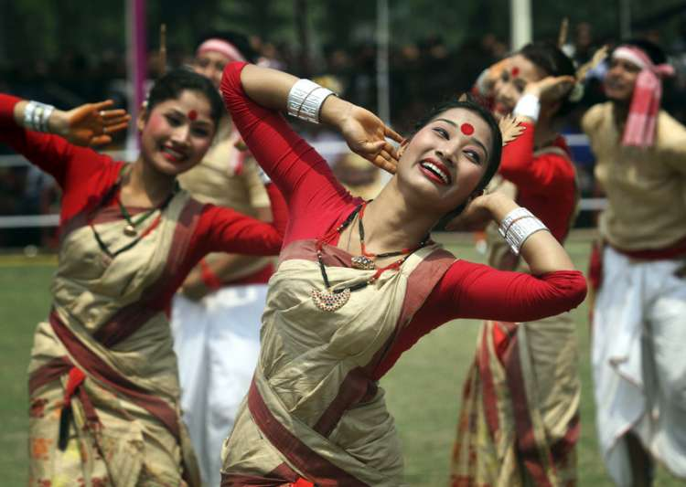 Breath-taking pictures of Assam's most colourful f- India Tv