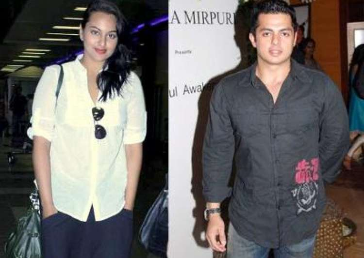 Sonakshi Sinha and Bunty Sajdeh- India Tv