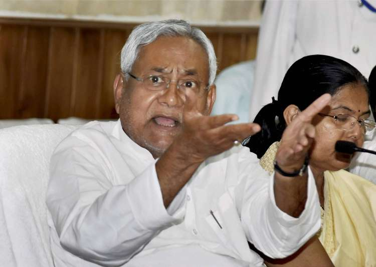 Nitish Kumar charged the government with going slow on