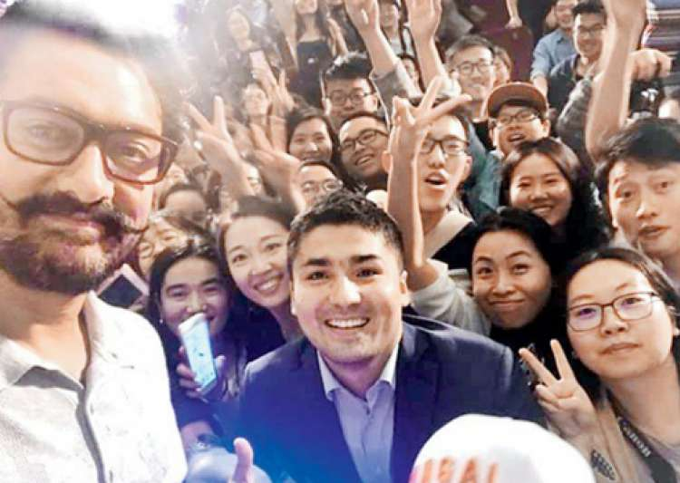 Aamir Khan in China- India Tv