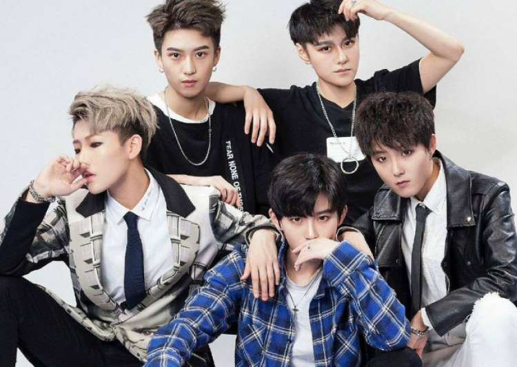 popular 'Boy Band' in China is made up of 'Girls'.- India Tv