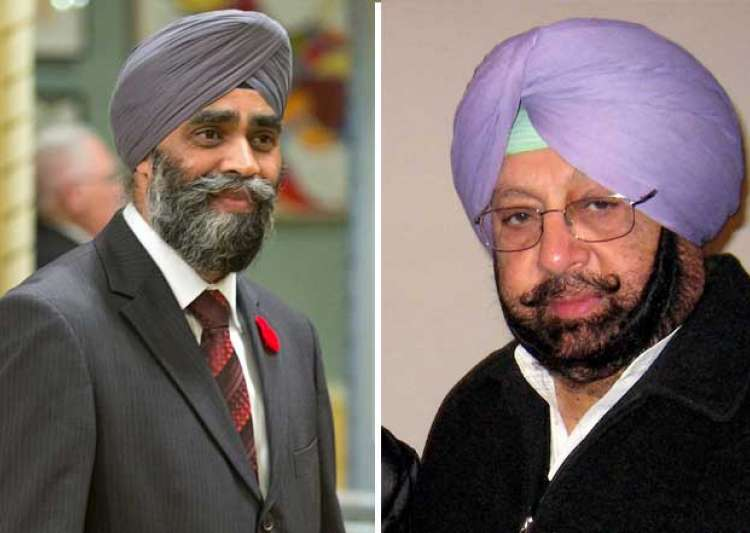 Disappointing, says Canada after Amarinder Singh calls its defence minister 'Khalistani sympathiser'