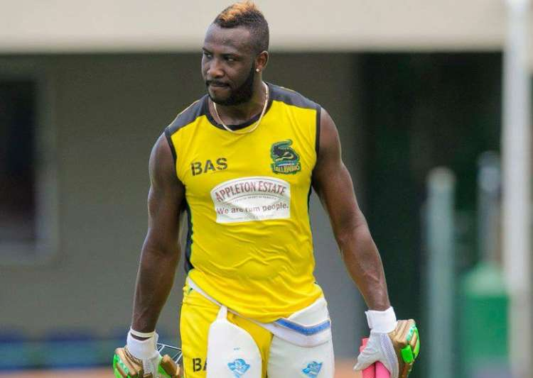 File pic - West Indies all-rounder Andre Russell planning- India Tv