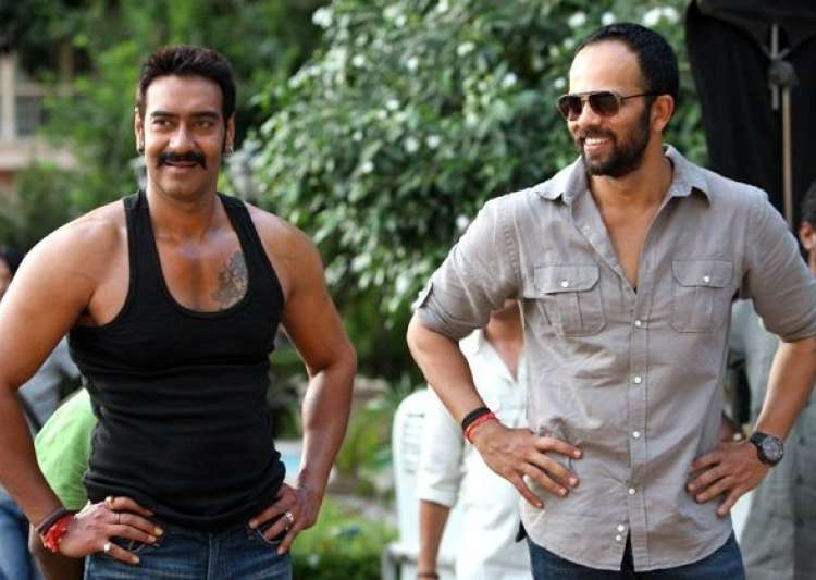 Ajay Devgn, Rohit Shetty- India Tv