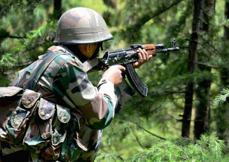 4 militants killed as Army foils infiltration bid in- India Tv