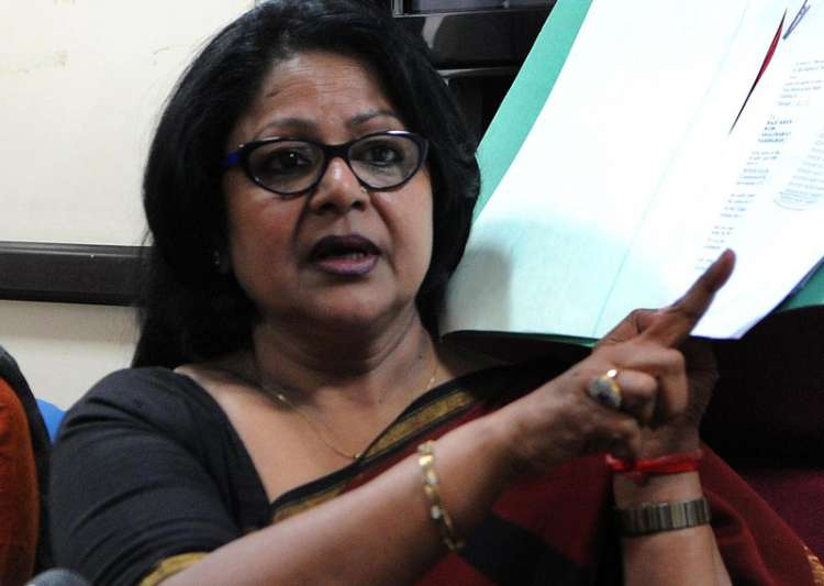 File pic of expelled Congress leader Barkha Singh - India Tv
