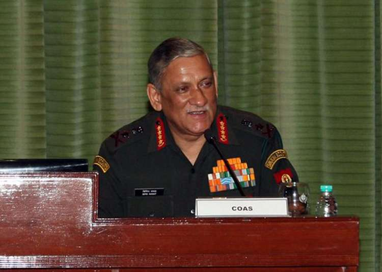 General Bipin Rawat at Army Commanders' Conference- India Tv
