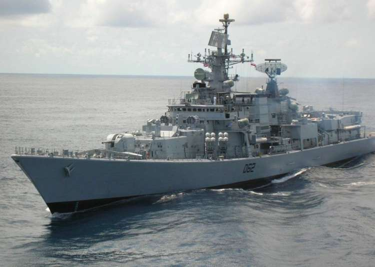 Indian Navy said INS Mumbai Tarkash were diverted to help