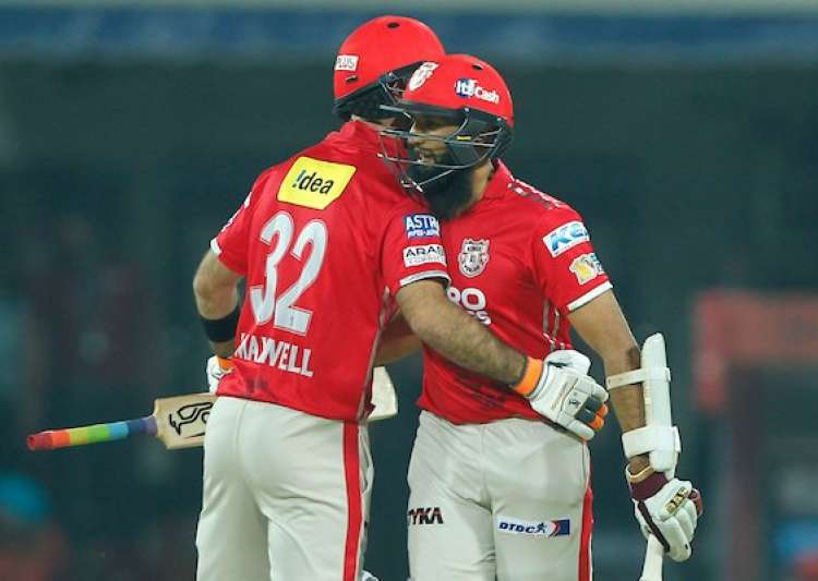 Hashim Amla's 58 helped Kings XI to score an easy win- India Tv