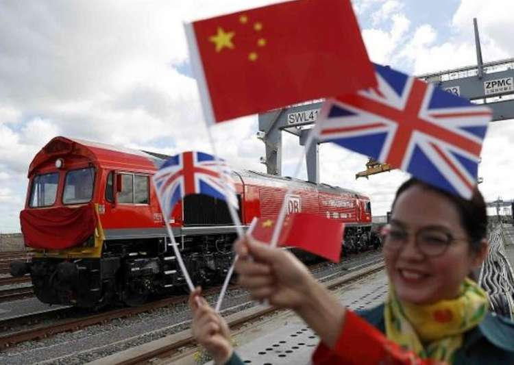 First 'Silk Road' train from Britain to China begins- India Tv