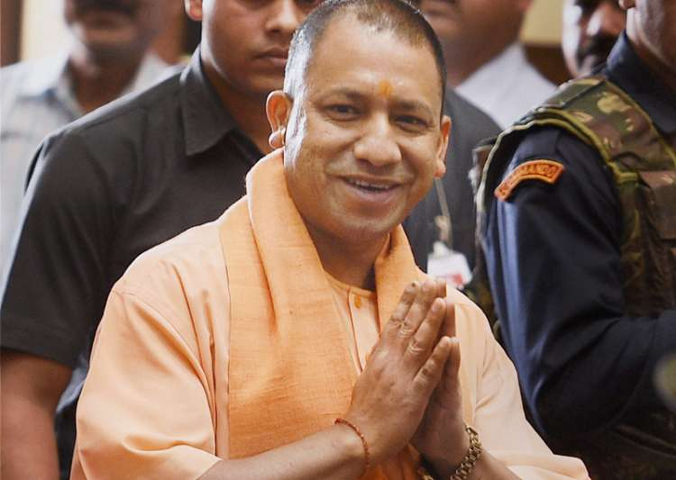 File pic of UP Chief Minister Adityanath