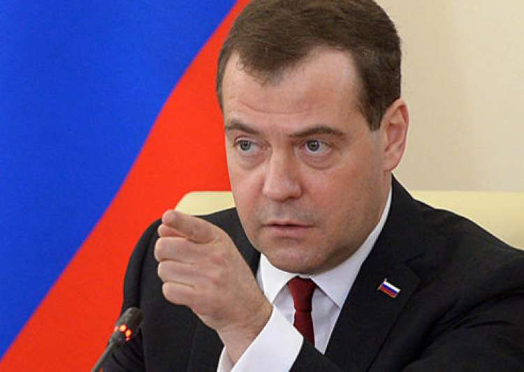 Russian PM Dmitry Medvedev- India Tv