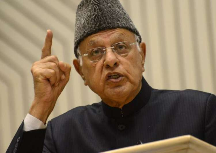 Stone throwers giving their lives for Kashmir: Farooq Abdullah