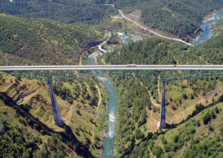 Woman falls off tallest California bridge while taking- India Tv