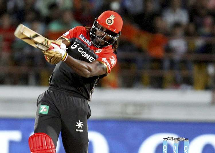 Chris Gayle signalled his return to form with a 38-ball 77 - India Tv
