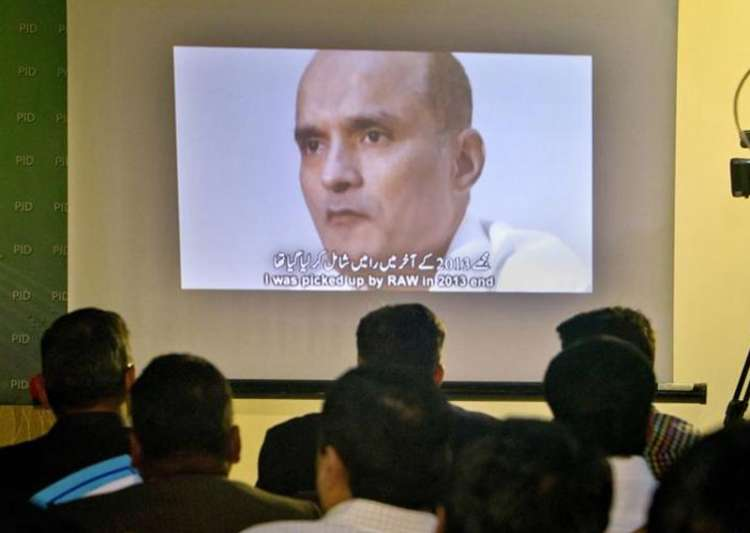 File pic of former Indian Navy officer Kulbhushan Jadhav- India Tv