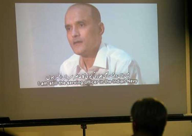 File pic of former Indian Naval officer Kulbhushan Jadhav- India Tv