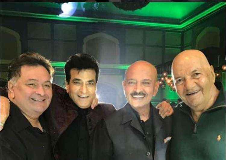 Jeetendra birthday party- India Tv