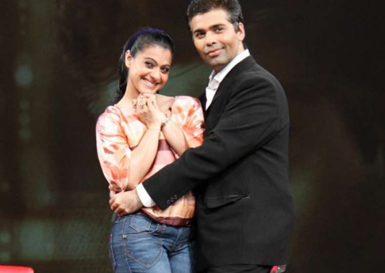 Will Kajol forget everything and meet Karan Johar's kids?- India Tv