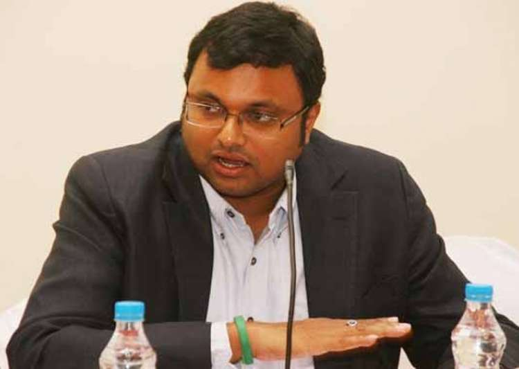 ED issues showcause notice to Karti Chidambaram for alleged forex rule violation